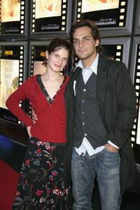 Svea Lohde and Robert Seeliger at the premiere of