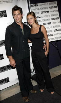 Chris Tardio and Jennifer Fontao at the party at QUO sponsored by the Gersh Agency celebrating New York Upfronts.