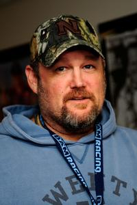 Larry the Cable Guy at the NASCAR Sprint Cup Series Daytona 500.