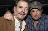 Bill Engvall and Larry The Cable Guy at the after party for Comedy Centrals Jeff Foxworthy Roast.