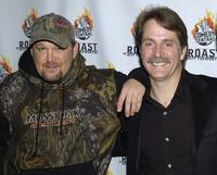 Larry the Cable Guy and Jeff Foxworhty at the Comedy Centrals Jeff Foxworthy Roast.