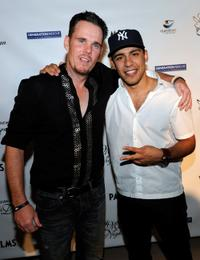 Kevin Dillon and Victor Rasuk at the fourth Annual Midsummer Night's Dream party.