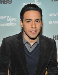 Victor Rasuk at the screening of