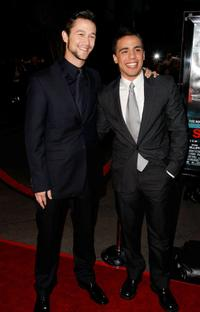 Joseph Gordon-Levitt and Victor Rasuk at the premiere of