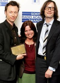 Shelia Peel, Jarvis Cocker and Guest at the Sony Radio Academy Awards.