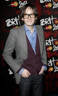 Jarvis Cocker at the BRIT (British Record Industry Trust) Awards 2007 nominations launch party.