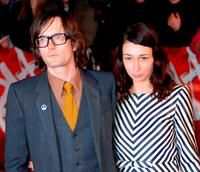 Jarvis Cocker and Guest at the BRIT Awards 2007.
