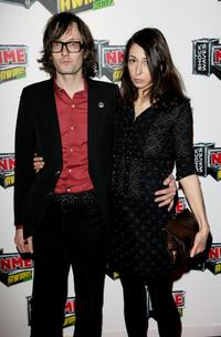 Jarvis Cocker and Camille Bidault-Waddington at the Shockwaves NME awards.