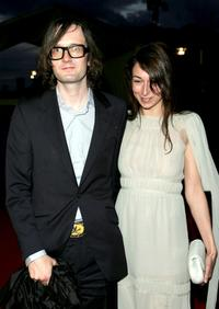 Jarvis Cocker and Guest at the Laureus/Vogue welcome party.