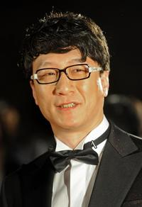 Sun Hong-Lei at the 2nd Asian Film Awards ceremony.