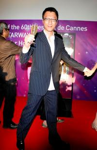 Sun Hong-Lei at the Hong Kong Party during the 60th International Cannes Film Festival.
