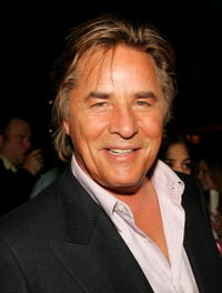 Don Johnson at the WB Network stars party at the Cabana Club.