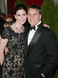 Don Johnson and wife Kelley at the