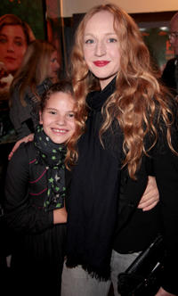 Emma Preisendanz and Brigitte Hobmeier at the Germany premiere of