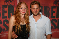 Brigitte Hobmeier and Maximilian Brueckner at the Munich premiere of