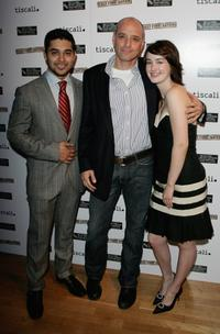 Wilmer Valderrama, Eric Schlosser and Ashley Johnson at the UK Premiere of