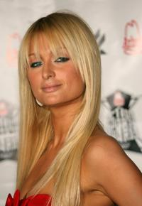 Paris Hilton at the Inagural Arby's Action Sports Awards.