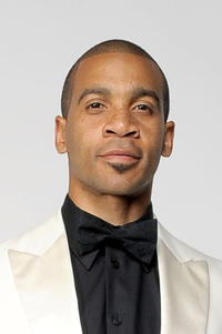 Aaron D. Spears at the portrait session of 42nd NAACP Image Awards.