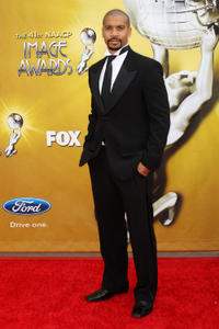 Aaron D. Spears at the 41st NAACP Image awards in California.