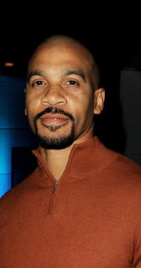 Aaron D. Spears at the 41st NAACP Image Awards Nominees Pre-Show Gala Reception in California.