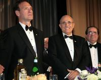 Samuel Alito Jr., Rudy Giuliani and Antonin Scalia at the NIAF's 32nd Anniversary Awards Gala.