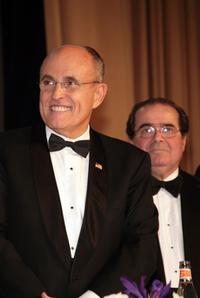 Rudy Giuliani and Antonin Scalia at the NIAF's 32nd Anniversary Awards Gala.