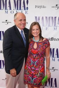 Rudy Giuliani and Wife Judi Nathan at the screening of