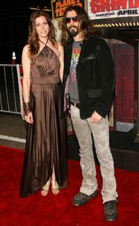 Sheri Moon Zombie and Rob Zombie at the release party of