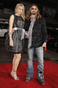 Sheri Moon Zombie and Director Rob Zombie at the premiere of