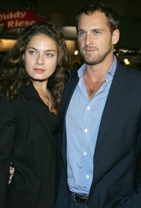 Alexa Davalos and Josh Lucas at the premiere of