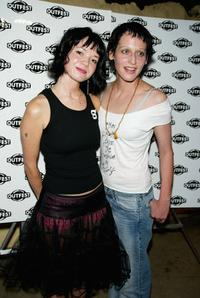 Shelly Cole and Lori Petty at the Outfest's 9th Annual Film Competition Awards.