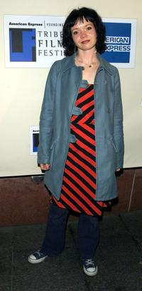 Shelly Cole at the screening of