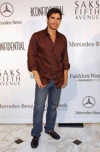 Eduardo Verastegui at the Mercedes Benz Fashion Week Kick Off Party.
