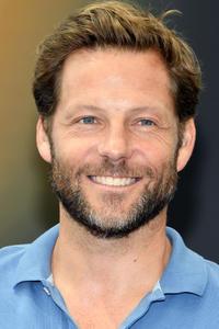 Jamie Bamber at a photocall during the 57th Monte Carlo TV Festiva.