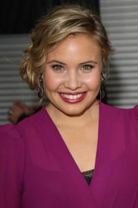 Leah Pipes at the California premiere of