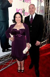 Alex Borstein and Guest at the premiere of