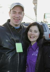 Jackson Douglas and Alex Borstein at the 2005 Sundance Film Festival.