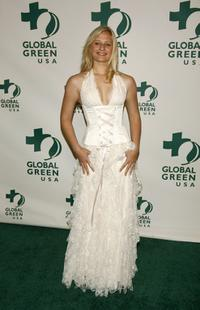 Carly Schroeder at the Global Green USA 3rd annual pre-Oscar party.