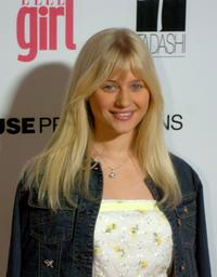 Carly Schroeder at the First Annual ELLEGIRL Hollywood Prom party.
