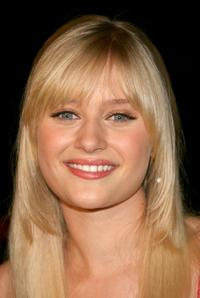 Carly Schroeder at the premiere of