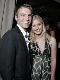 Christopher Shand and Carly Schroeder at the after party of the premiere of