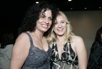 Producer Lemore Syvan and Carly Schroeder at the premiere of