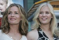 Elizabeth Shue and Carly Schroeder at the premiere of