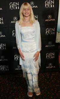 Carly Schroeder at the New York premiere of
