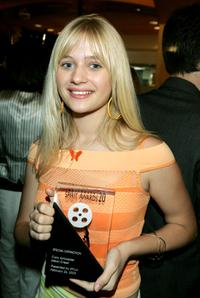 Carly Schroeder at the 20th IFP Independent Spirit Awards.