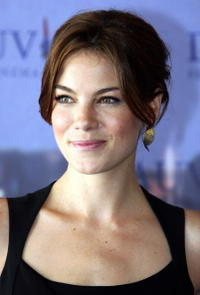"""""""The Heartbreak Kid"""" star Michelle Monaghan at a photocall during the 33rd US Film Festival in Deauville, France."""