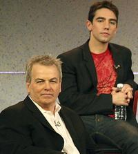 Bobby Moresco and Keith Nobbs at the 2007 Winter Television Critics Association Press Tour.
