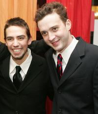 Keith Nobbs and Eddie Kaye Thomas at the after party of the opening night of