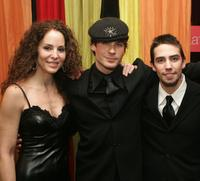 Dede Harris, Ian Somerhalder and Keith Nobbs at the after party of the opening night of