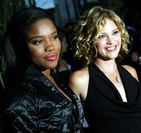 Lena Cardwell and Nicki Aycox at the premiere of
